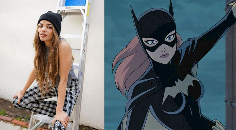 Leslie Grace and Batgirl in 2016
