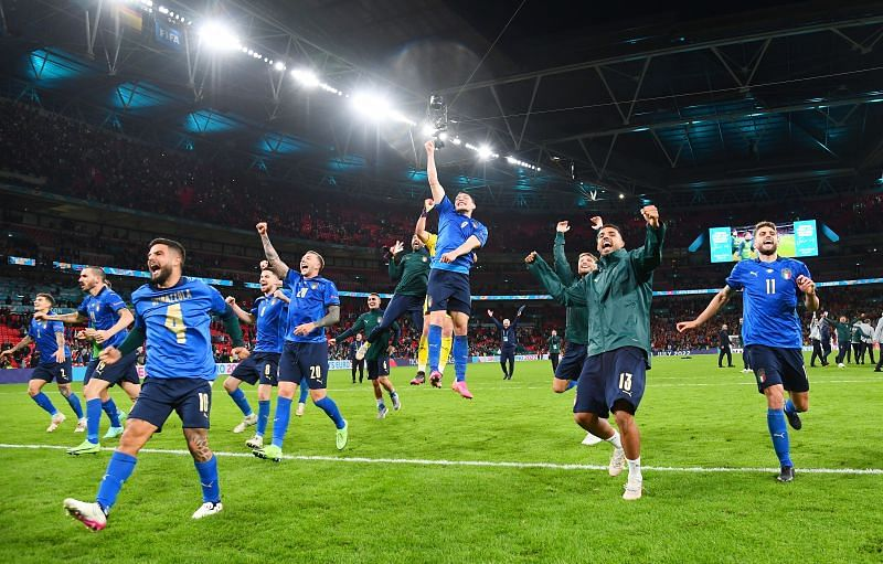 Italy have reached the Euro 2020 final, riding on a 33-game winning streak.