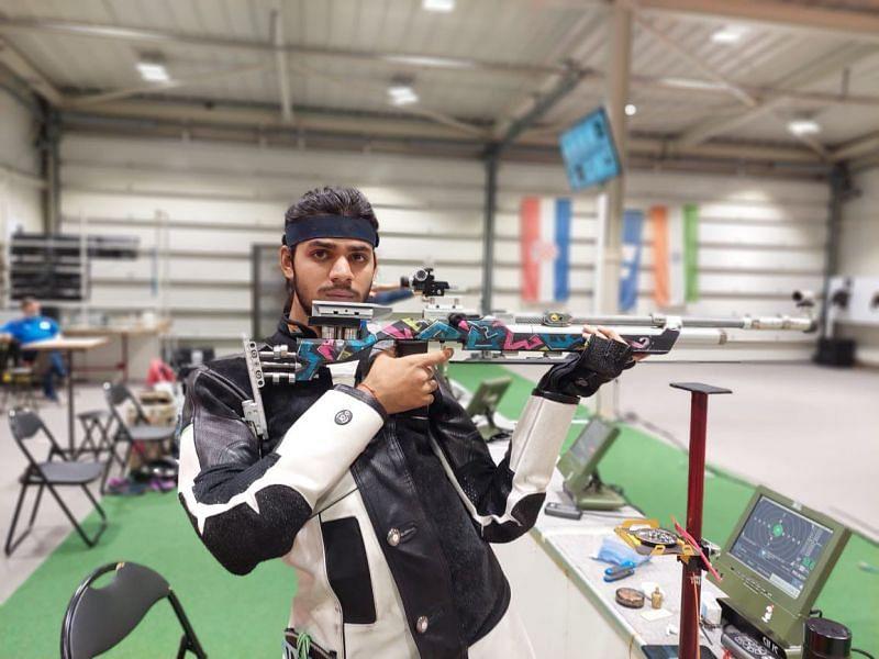 Divyansh Singh Panwar crashed out of the Olympics 2021