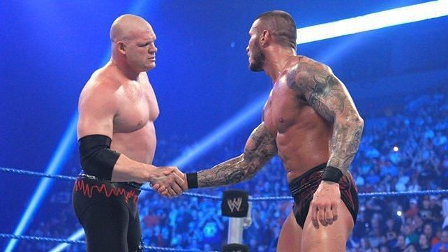 Randy Orton and Kane delivered a good match