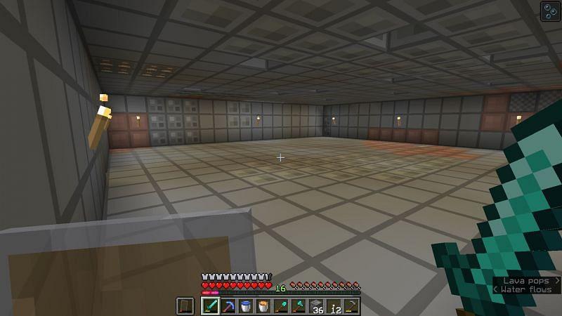 Un trozo de barro bien iluminado en Minecraft (en la foto a través de u / coolburritoboi en Reddit)
