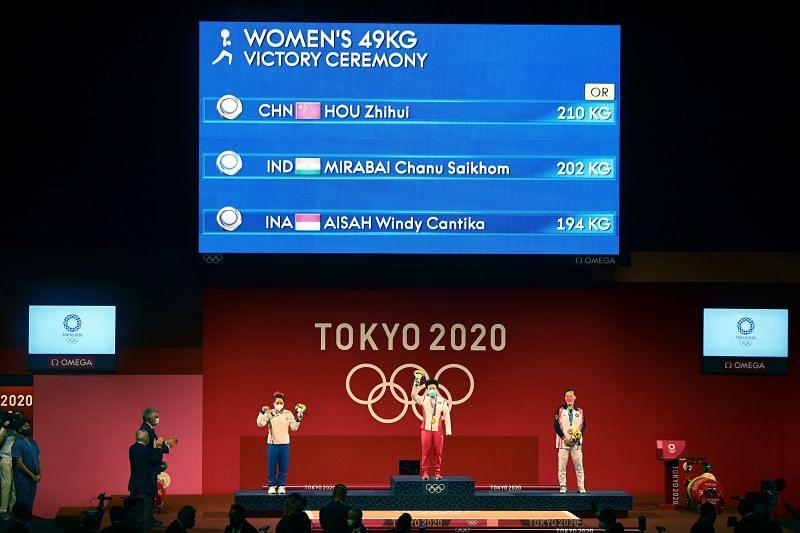Weightlifting - Mirabai Chanu (Silver medallist)