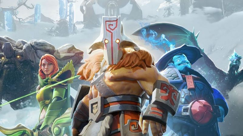 Dota 2 is one of the most played games today (Image via Valve)