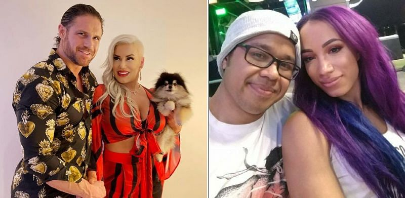 There are several current Superstars who are married to fellow wrestlers both inside and outside WWE