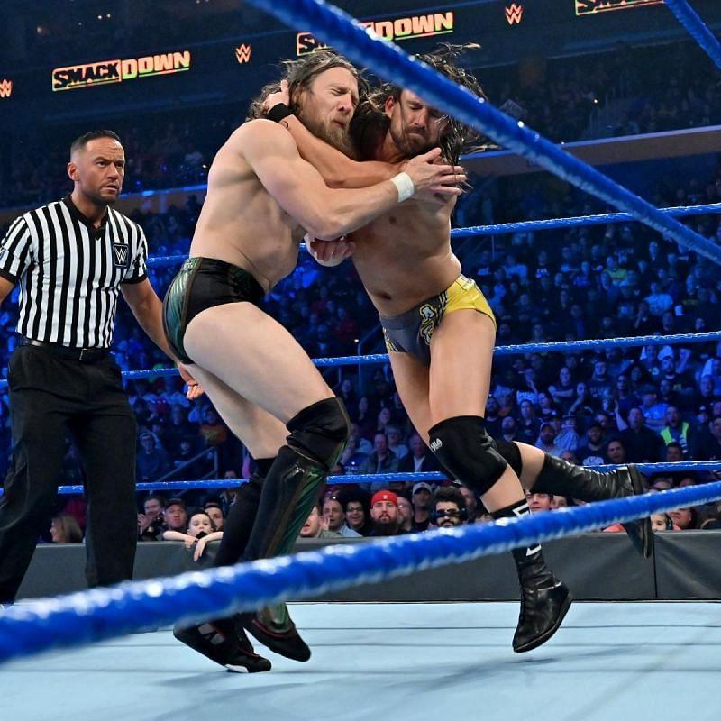 Adam Cole and Daniel Bryan in WWE
