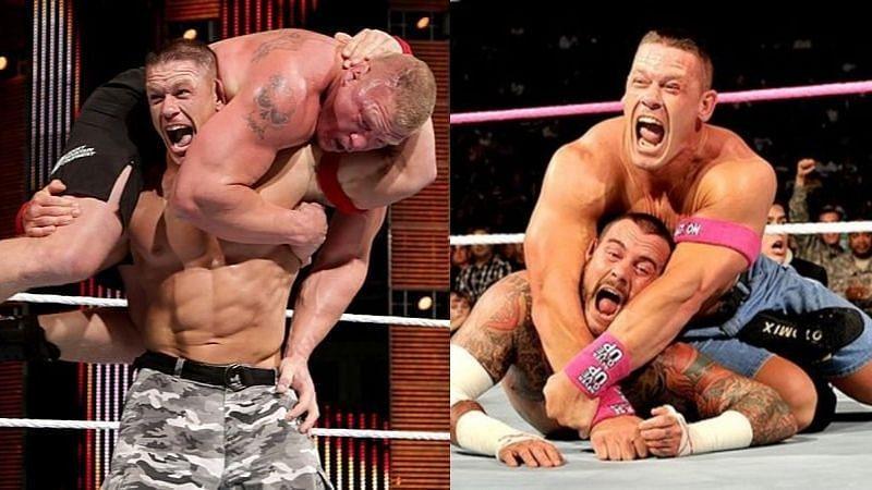 जॉन सीना के WWE में सिग्नेचर मूव्स