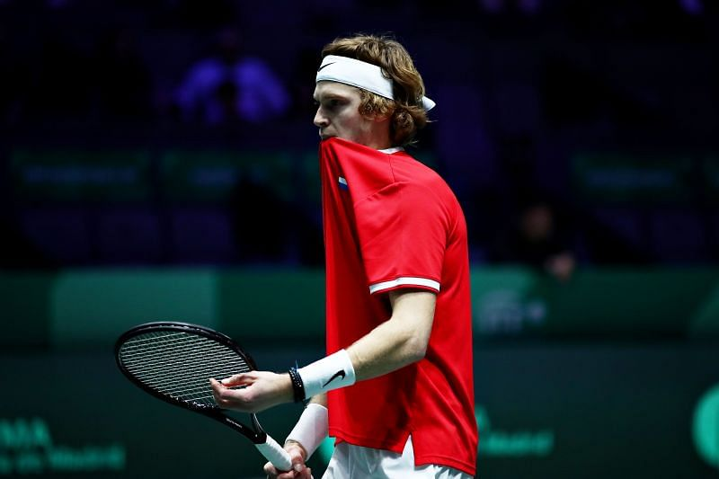 Andrey Rublev will make his Olympic debut in Tokyo