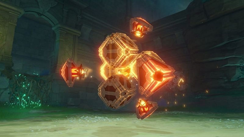 The Perpetual Mechanical Array is a tough new boss to defeat (Image via Genshin Impact Wiki)