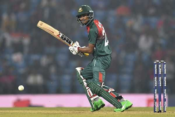 Mohammad Naim scored 66 from 51 balls in the first T20I