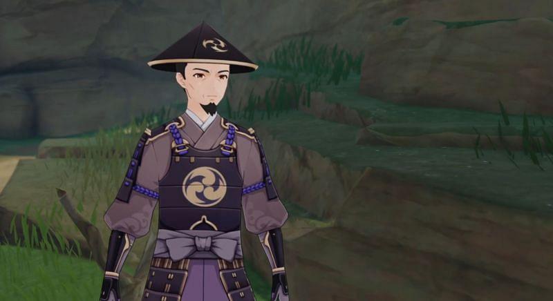 Keijirou in Genshin Impact version 2.0 (Image via Genshin Impact)