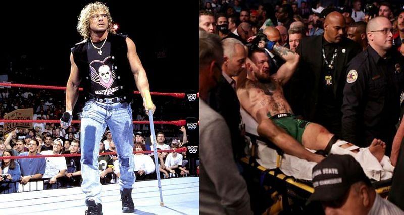 WWE सुपरस्टार्स जिन्होंने कॉनर मेक्ग्रेगर की तरह ही टखने की चोट का सामना किया है