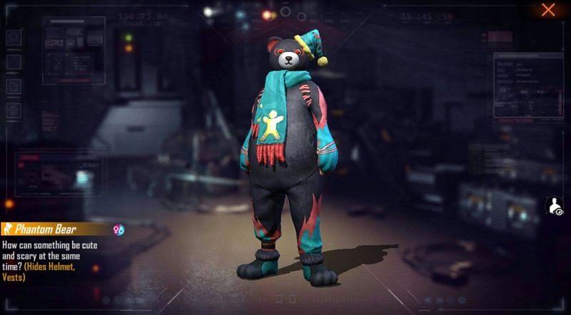 The new redeem code provides Phantom Bear bundle (Image via Free Fire)