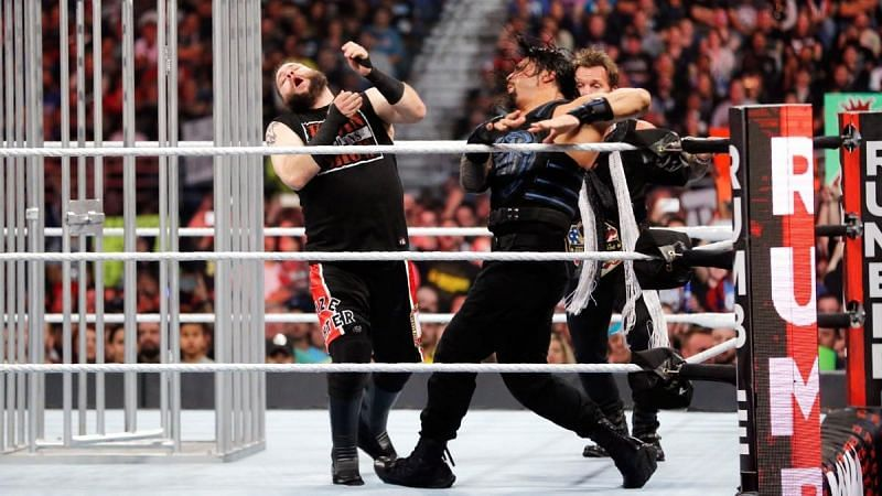 Kevin Owens retained the Universal Championship at the 2017 Royal Rumble pay-per-view.