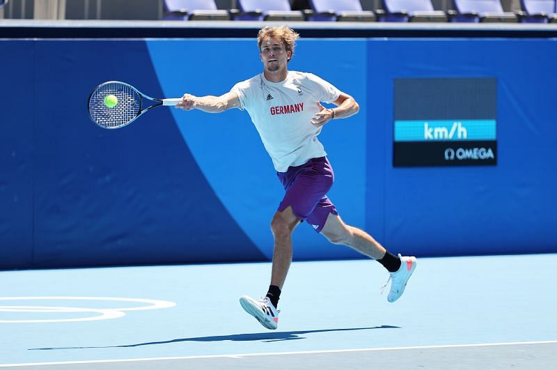Zverev will lead Germany's challenge at the Olympics