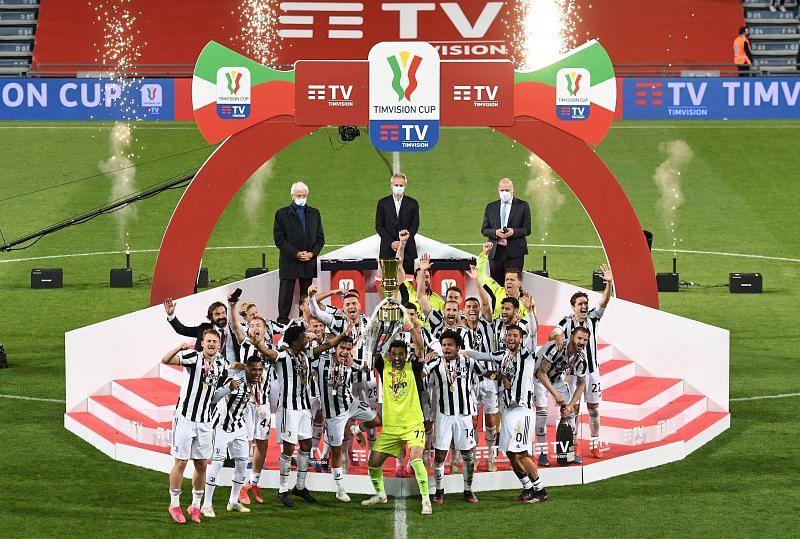 Juventus won the 2020-21 Coppa Italia