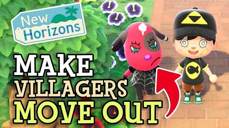 Evicting villagers in Animal Crossing: New Horizons (Image via Mayor Mori)