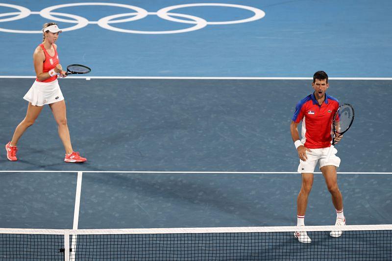 Nina Stojanovic and Novak Djokovic