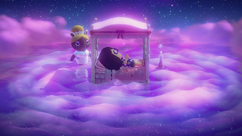 Dreaming in Animal Crossing: New Horizons (Image via SuperParent)
