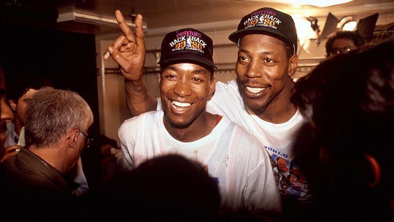 1990 NBA champions: