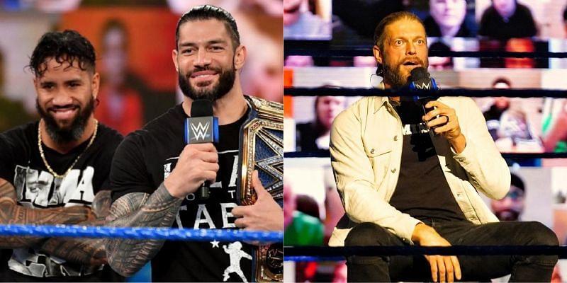 WWE SmackDown में रोमन रेंस और ऐज
