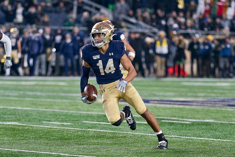 Notre Dame safety Kyle Hamilton