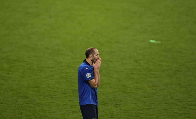 Giorgio Chiellini had an excellent game for Italy in the Euro 2020 final.