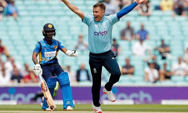 Sam Curran carried on from where he left off in the T20I series.