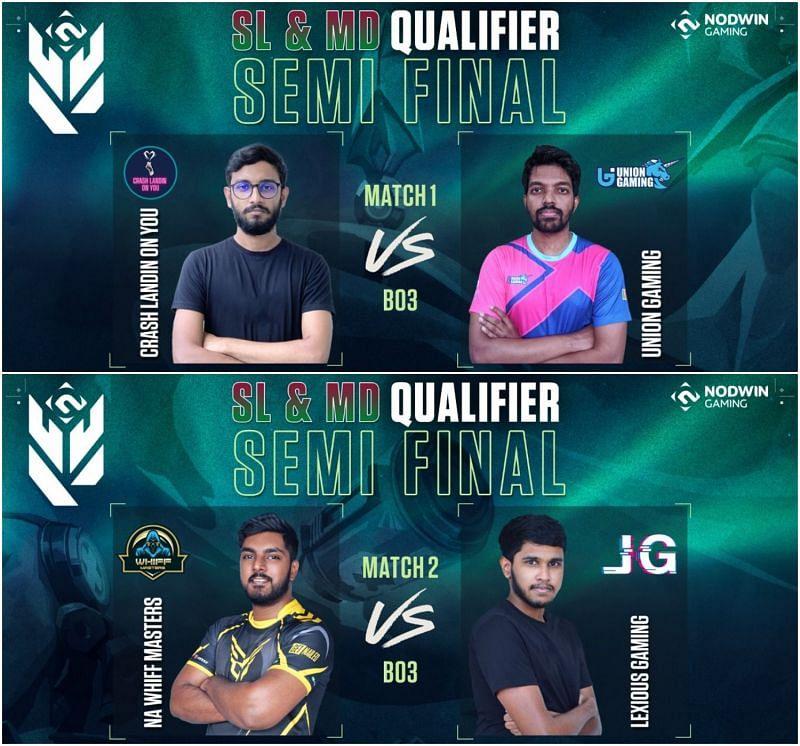 Valorant Conquerors Championship Sri Lanka & Maldive Qualifier Semi-Final Results