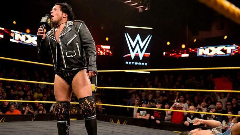 Sami Callihan as Solomon Crowe in NXT