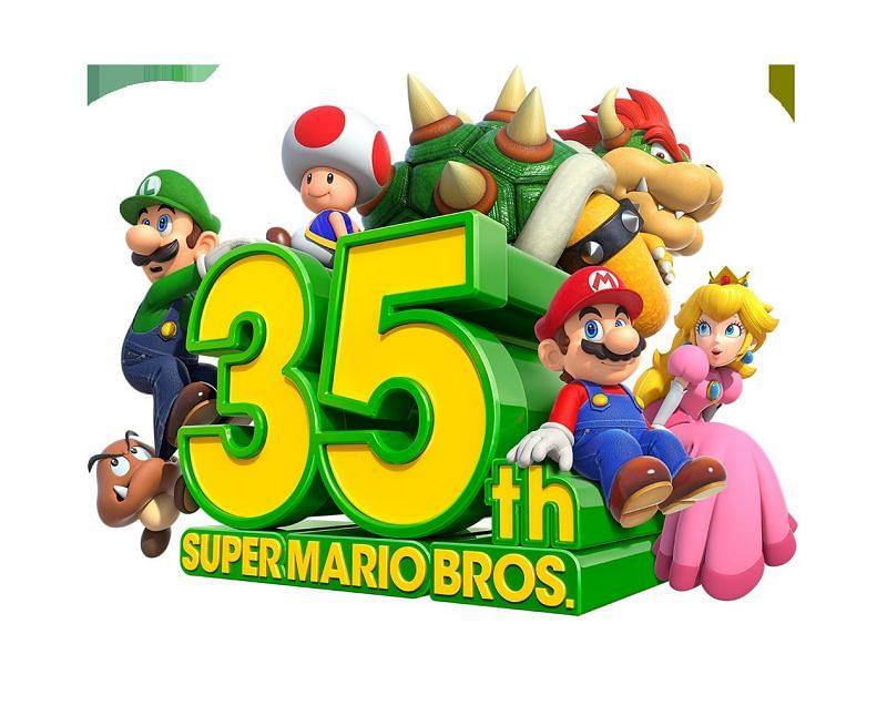 Mario's 35th anniversary. Image via Nintendo