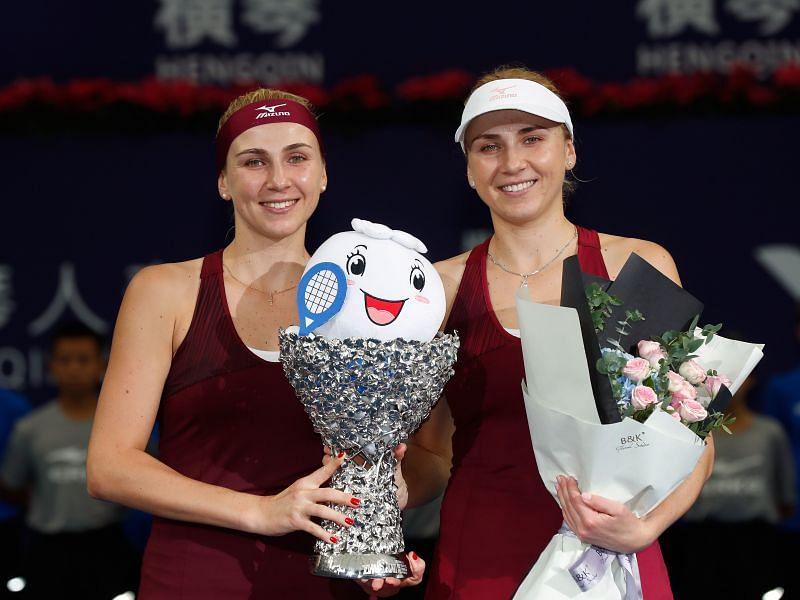 Nadiia Kichenok and Lyudmyla Kichenok