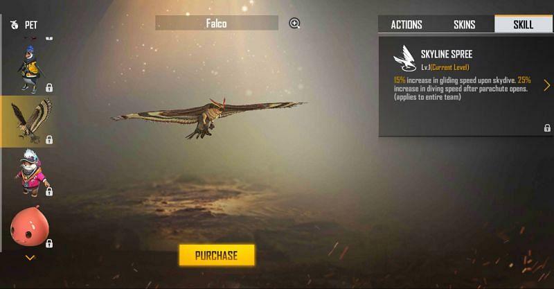 Falco in Free Fire (Image via Free Fire)