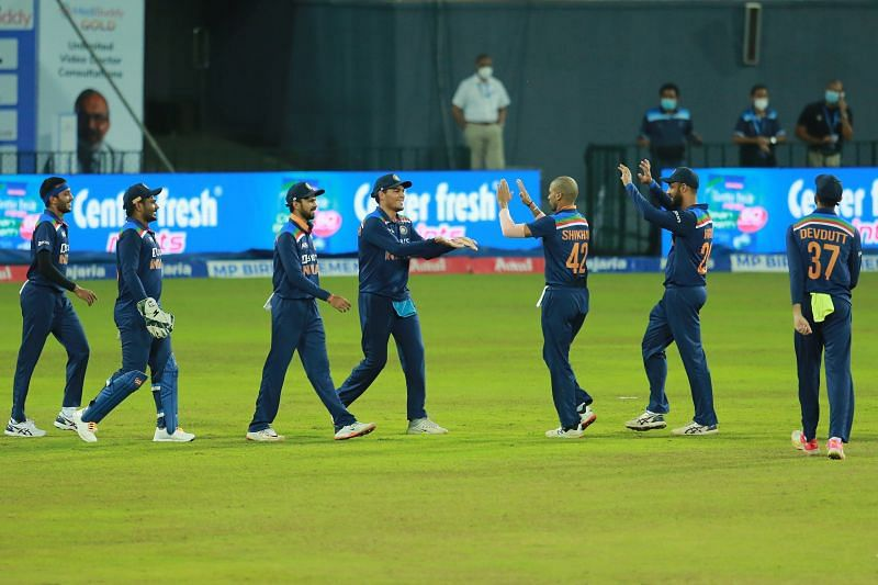 India lost the 3rd T20I against Sri Lanka by 7 wickets (Image Source: Twitter)