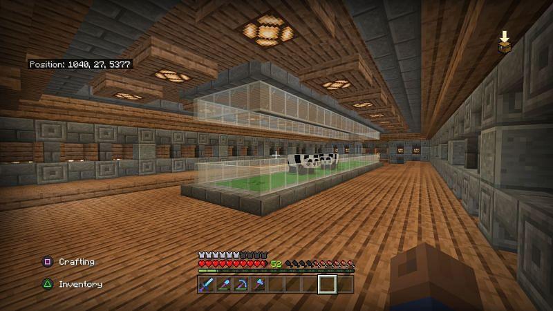 A user made a villager trading hall! (Image via Reddit)