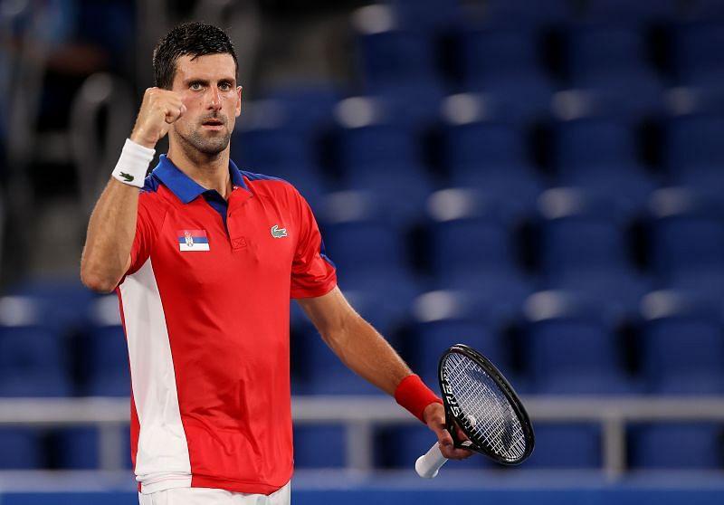 Novak Djokovic after beating Kei Nishikori