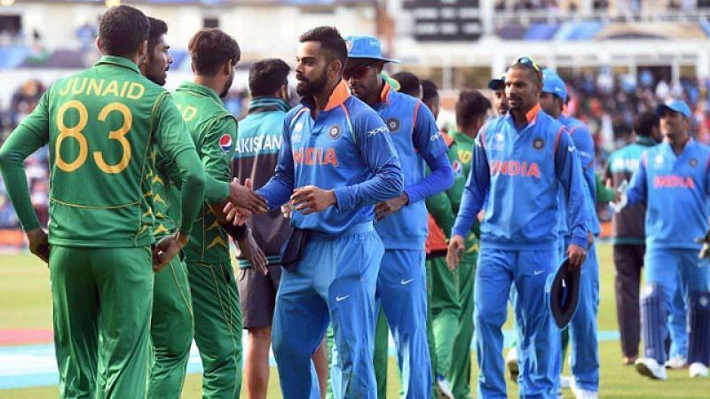 India and Pakistan teams