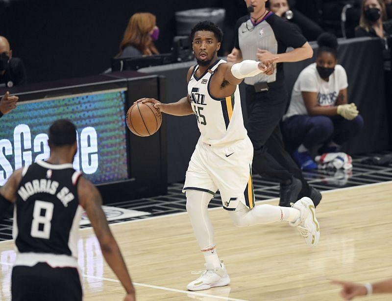 Utah Jazz star Donovan Mitchell