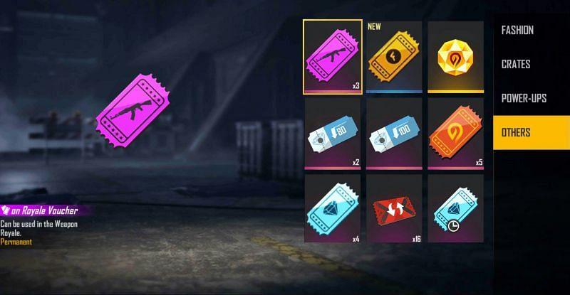 Rewards include 5x Pet Rumble Room Card and 2 vouchers (Image via Free Fire)