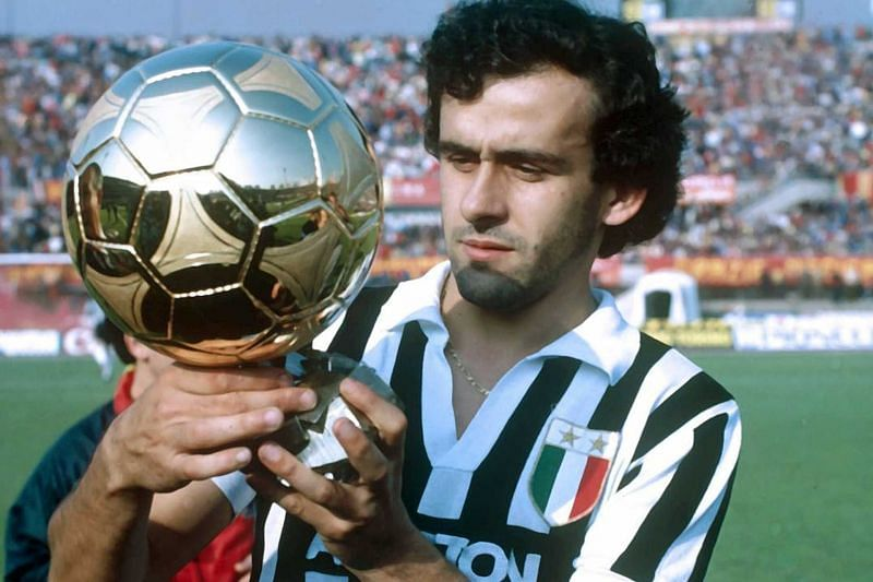Michel Platini has won three Ballon d