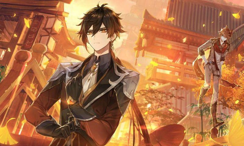 Characters like Zhongli help a lot (Image via Genshin Impact)