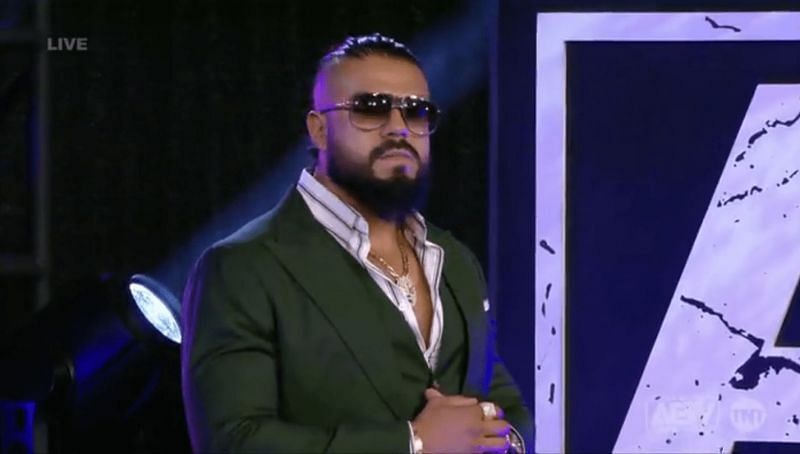 Andrade El Idolo introduced a luchador legend as his executive consultant on Dynamite