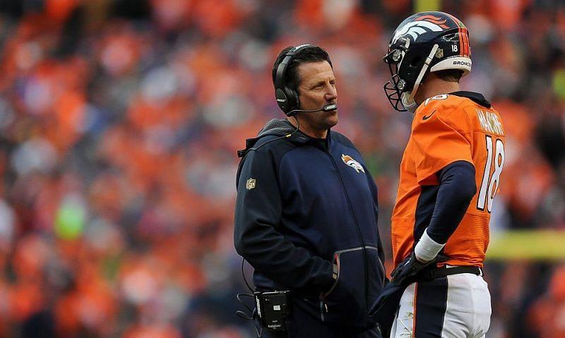 Former Denver Broncos coach Greg Knapp