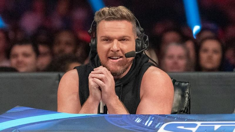 Pat McAfee as SmackDown commentator