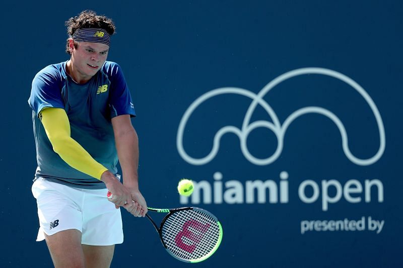 Milos Raonic is back in action