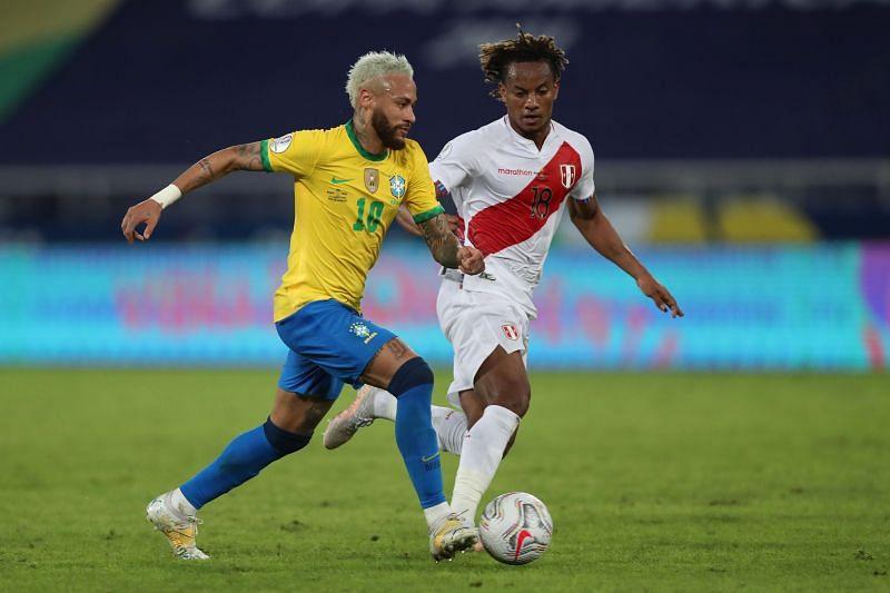 Brazil take on Peru this week