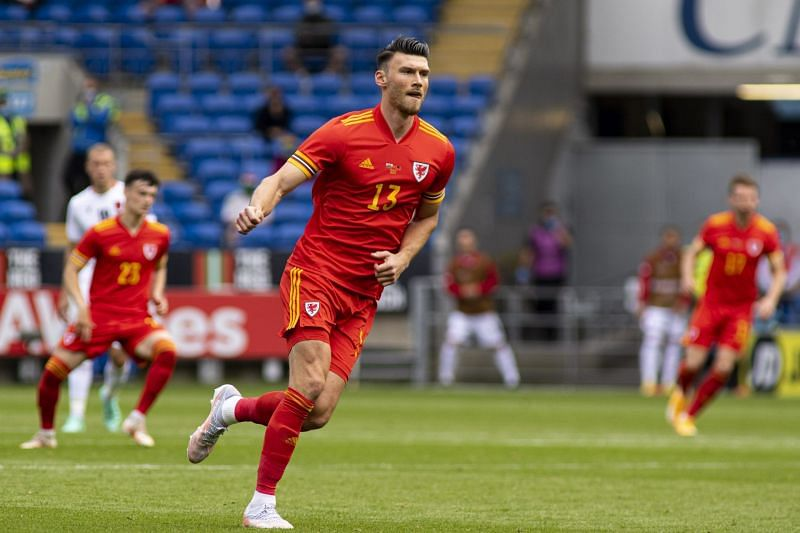 Moore scored Wales' first goal of Euro 2020 against Switzerland