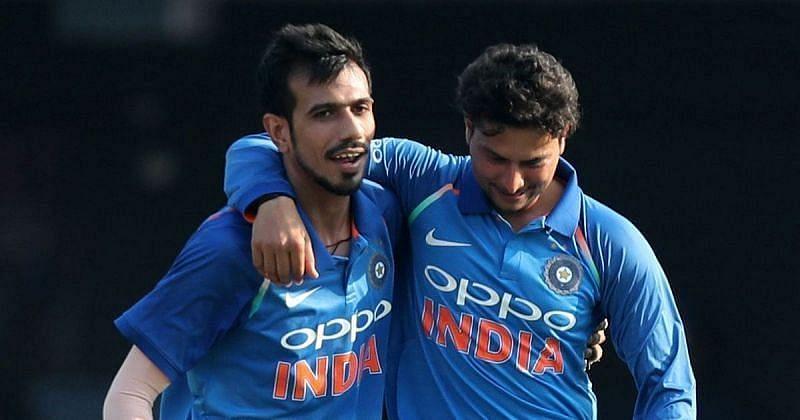 Kuldeep Yadav and Yuzvendra Chahal enjoy a great camaraderie both on and off the field