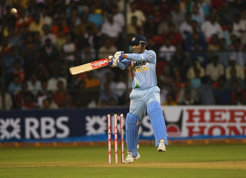 Virender Sehwag was one of India's most explosive cricketers.