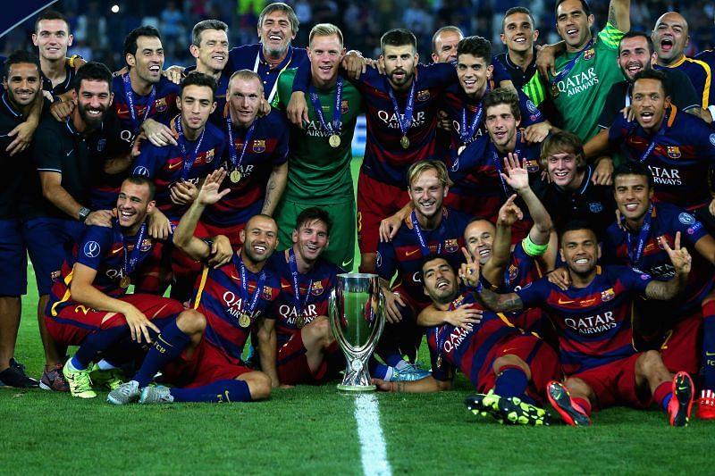 Barcelona v Sevilla FC - UEFA Super Cup
