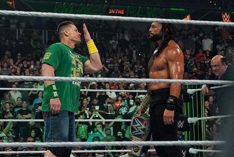 जॉन सीना की WWE Money in the Bank 2021 में वापसी हुई